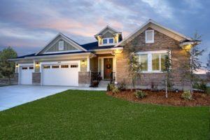 Home Landscaped Yard
