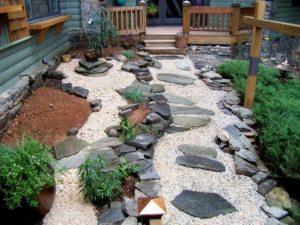 Rock Garden Pathway